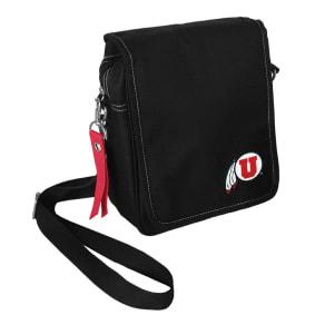 NCAA Utah Utes Little Earth Ribbon Satchel, Adult Unisex