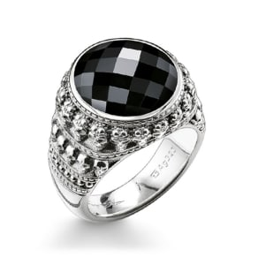 Thomas Sabo ring black TR2005-024-11-68