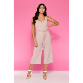 d4510924 Quiz Dusky Pink Culotte Jumpsuit