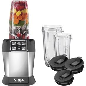 Ninja - Nutri Ninja 32 Oz. Auto-iQ Blender - Black