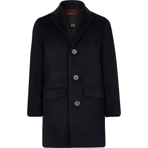 Boys Navy smart coat
