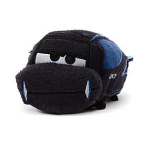 Jackson Storm Tsum Tsum Mini Soft Toy, Disney Pixar Cars 3
