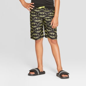 496f52ddbf Boys' Batman Swim Trunks - XS, Multicolored