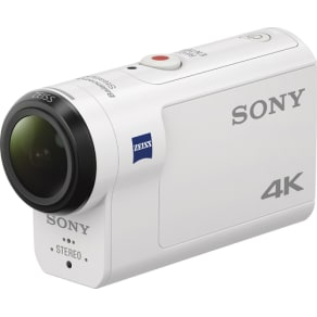 Sony - X3000 4K Waterproof Action Camera - White