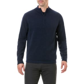 Men's Rodd & Gunn Iverness Lambswool Sweater, Size Medium - Blue