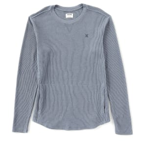 Hurley Washed Crew Thermal Long-Sleeve Pullover