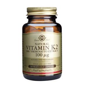 Solgar Vitamin K2 100g 50 Vegi Capsules - 60capsules