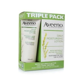 Aveeno Active Naturals Daily Moisturising Lotion 3 X 200ml Pack