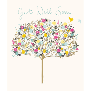 Woodmansterne Tree Of Well Wishes Get Well Card