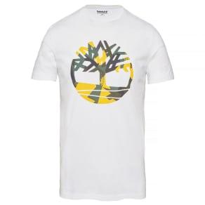 Timberland Men's Kennebec River T-Shirt White White, Size Xxl