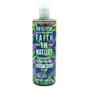 Faith in Nature Lavender & Geranium Body Wash 400ml
