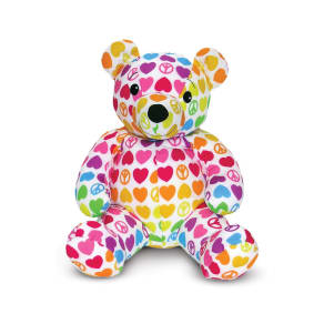 Toddler Melissa & Doug 'Beeposh - Hope Bear' Plush Toy