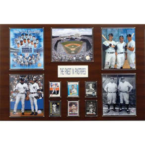 C & I Collectables C & I Collectibles Mlb New York Yankees Great Stars Plaque