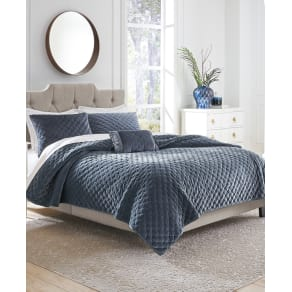 Croscill Carissa Velvet King Quilt Bedding