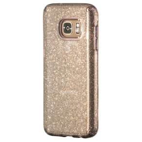 Speck Gs7 Candyshell Clear Onyx Gold Glitter