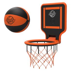 Swish Portable Basketball Hoop - Orange