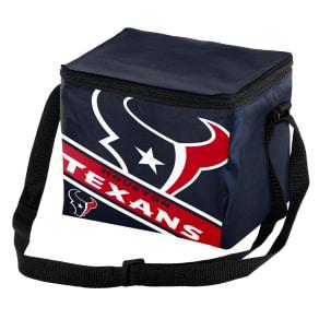 Nfl Big Logo Stripe 6 Pack Cooler-Houston Texans, Houston Texans