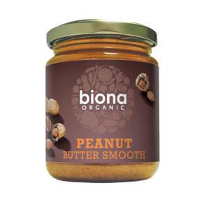 Biona Organic Peanut Butter Smooth 250g