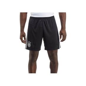 Adidas Germany 2017/18 Home Shorts - Black/White - Mens