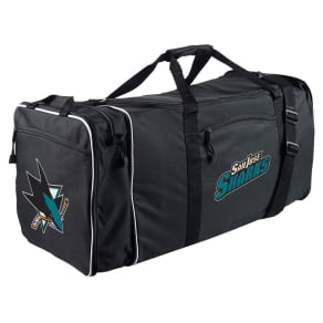 Nhl San Jose Sharks 28 Steal Duffle Bag - Black