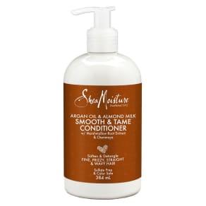 Shea Moisture Argan Oil & Almond Milk Smooth & Tame Conditioner 384ml