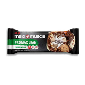 Maximuscle Promax Lean Protein Bar - Cookies & Cream Flavour - 55g