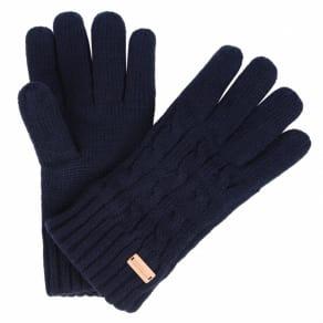 Regatta Blue 'Multimix' Knit Gloves