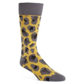 Men's Paul Smith Camo Socks, Size One Size - Yellow