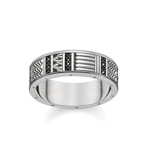 Thomas Sabo Ring Black Tr2108-643-11-50