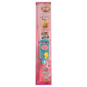 Jimmy Houston Girls Combo With Tackle, Multi-Colored