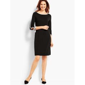 Talbots: Elbow Sleeve Jersey Dress