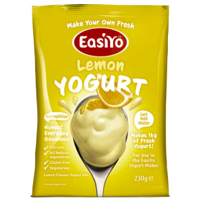 Easiyo Sweet Flavour Yogurt Lemon 230g - 230g