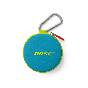 Bose Soundsport Headphones Carry Case Neon Blue