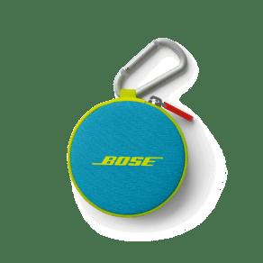Bose Soundsport Headphones Carry Case Neon Blue