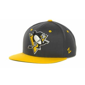 Pittsburgh Penguins Zephyr NHL Charcoal Refresh Cap