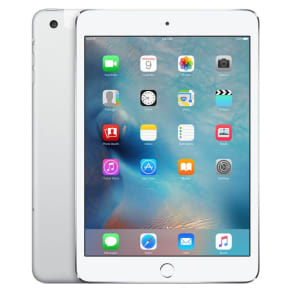 Apple Refurbished iPad mini 4 Wi-Fi + Cellular 32GB - Silver