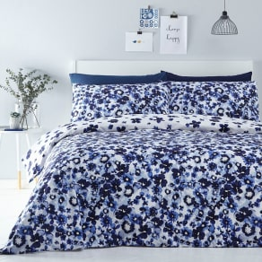 Home Collection Blue 'Bethan' Bedding Set