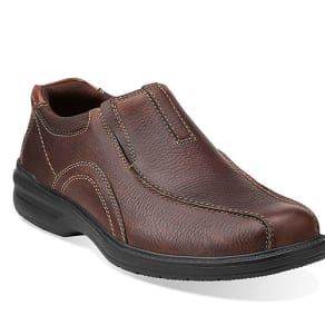 Clarks Sherwin Oxford Men S Brown Tumble Shoes