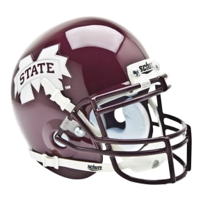 Schutts Sports Mississippi State Bulldogs Ncaa Mini Helmet