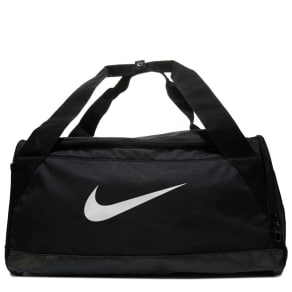 Nike Brasilia Small Training Duffel Bag Shoes (Black/White)