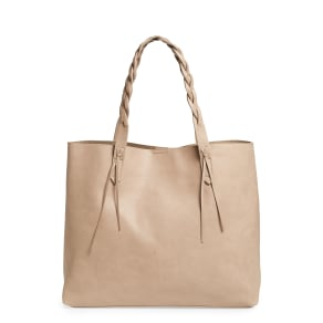 Sole Society Amal Faux Leather Tote - Beige