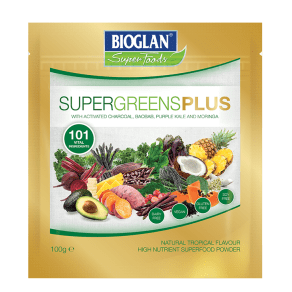 Bioglan Supergreens Plus 100g - 100g, Green