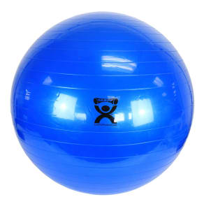 """Cando Inflatable Exercise Ball - Blue - 34"""" (85 Cm)"""