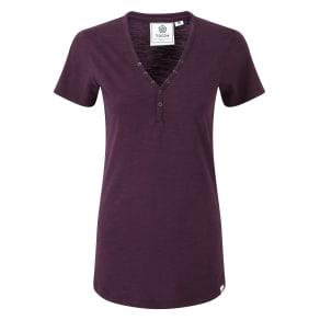 Tog 24 Alice Ladies Deluxe Tshirt, Purple