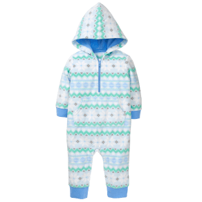 Boy's Fair Isle Fleece 1-Piece by Gymboree - Size Nb - Sky Blue Fair Isle - Sky Blue Fair Isle