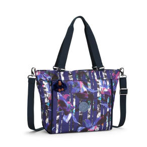 Kipling New Shopper Small Shoulder Bag, Multi-Pastel
