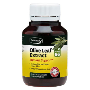 Comvita Olive Leaf Extract Immune Support - 60 Capsules