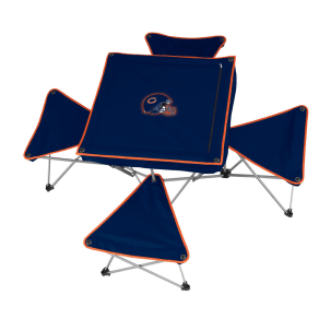 Nfl Table With 4 Stools - Bears