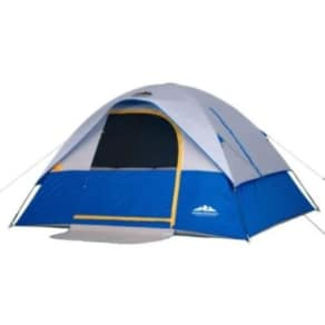 Northwest Territory Silver Dome Tent - 10' X 8', Blue And Silver