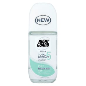 Right Guard Women Total Defence 5 Pure Anti-Perspirant Roll on 50ml